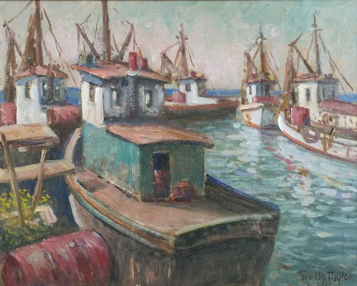 """""""Rockport""""  Shrimp Boat"""