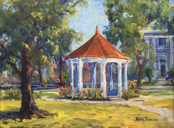King William Gazebo in San Antonio Tx.