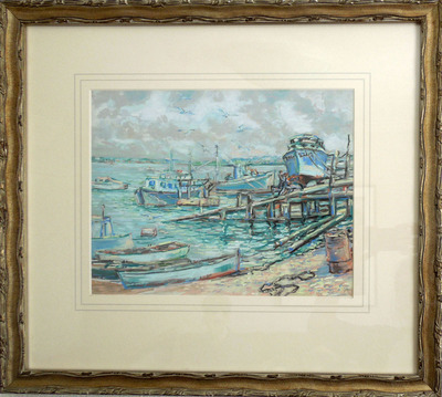 Everett__raymond-fishing_boats__galveston