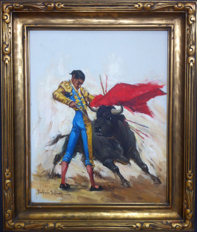 Bullfighter20x16a