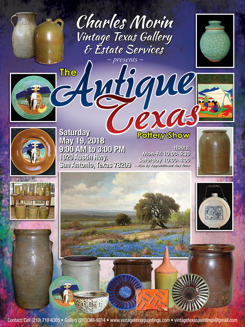 THE BIG VINTAGE TEXAS POTTERY SHOW