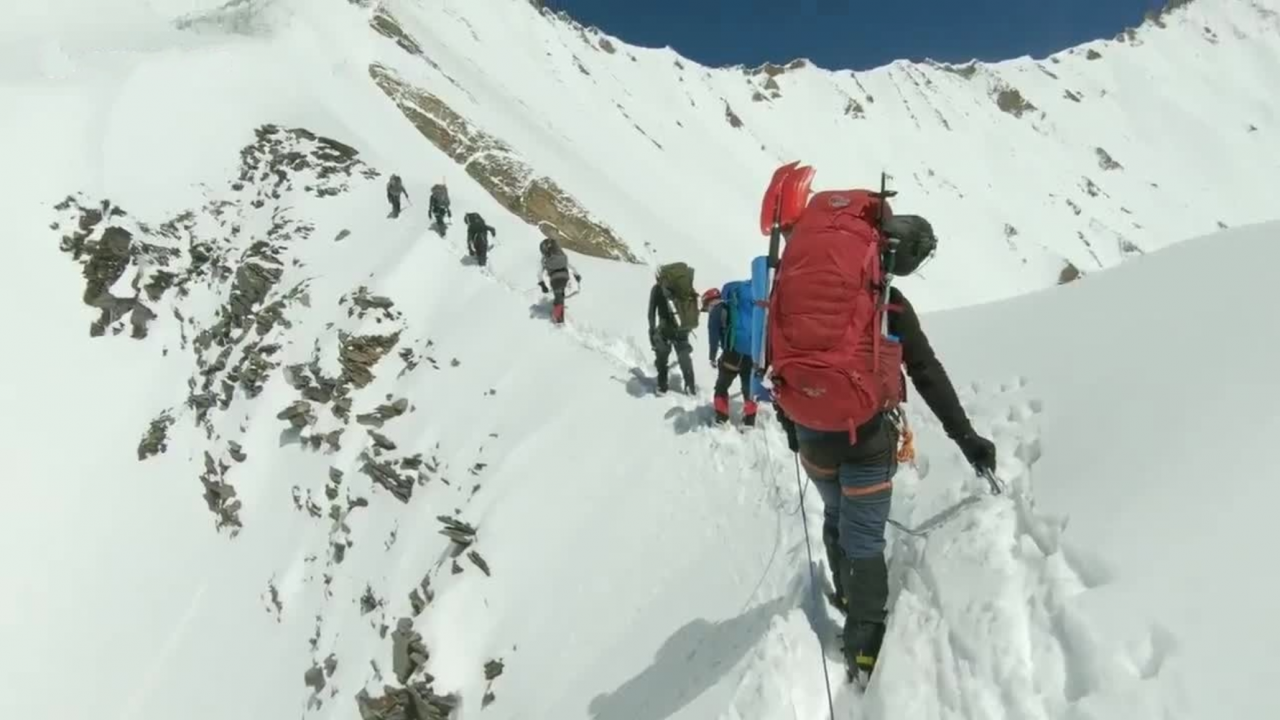 Himalayan Climbers' Last Moments In Video Before Avalanche