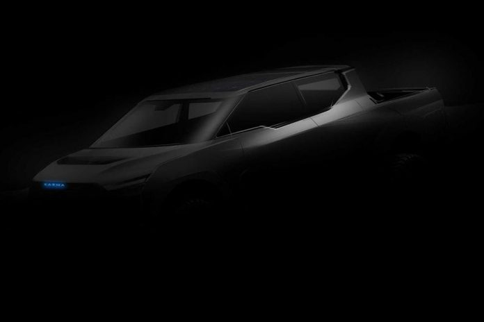 Karma Plans Electric Pickup Truck Concept For Late This Year