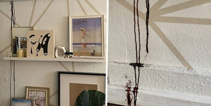 Mysterious Black Stain Leaking From Apartment Ceiling Turns Out To Be Blood
