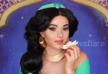 Girl Transforms Into Princess Jasmine To Celebrate Live Action Film Aladdin's Release