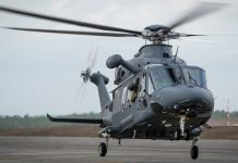 New Grey Wolf Helicopter