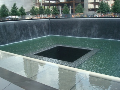 Do you like the design of the 9/11 memorial?