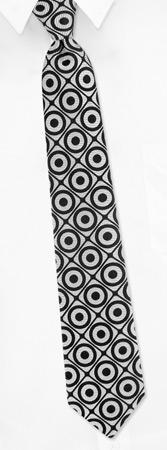 Narrow Ties - Geometric Dot Narrow By Gucci Silver Silk Ties
