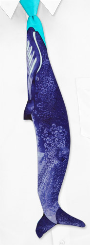 Whale Shaped by Why-Knot purple silk ties