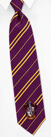 Harry Potter Costumes - Gryffindor House By Harry Potter Purple Silk Ties