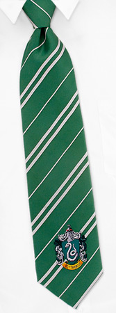 Harry Potter Costumes - Slytherin House By Harry Potter Green Silk Ties