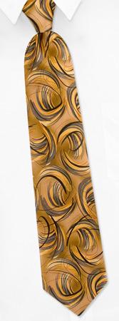 Garcia Ties - Junglescape By Jerry Garcia Bronze Silk Ties