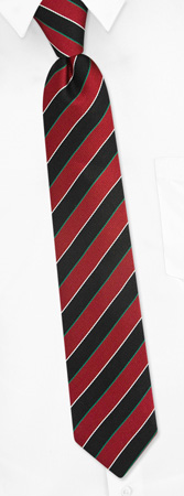 Black Tie - Scoula By Principessa Black Silk Boys Ties
