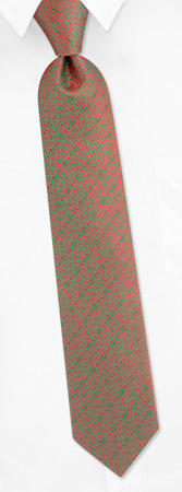 Silk Ties - Holiday 2008 Special Edition By Principessa Regale Red Silk Boys Ties