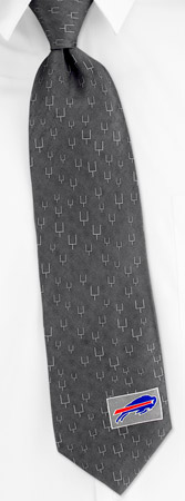 Silk Ties - NFL Buffalo Bills Updated By NFL Silver Silk Ties
