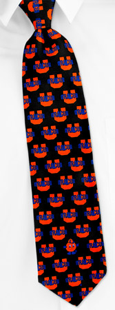 Syracuse University Logo Tie by NCAA -  Black Silk