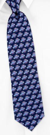 Custom Ties - NBA Utah Jazz Custom By NBA Navy Blue Silk Ties