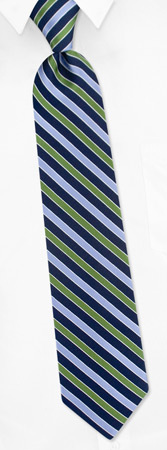 Tommy Hilfiger Ties - Multi Stripes By Tommy Hilfiger Navy Blue Silk Ties
