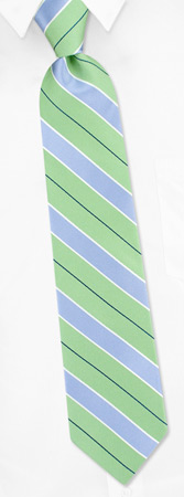 Tommy Hilfiger Ties - Stripes By Tommy Hilfiger Green Silk Ties