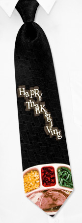 Black Tie Dinner - TV Dinner By Wild Ties Black Silk Ties