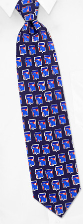 Republican Shield Tie by Wild Ties - Navy blue Silk