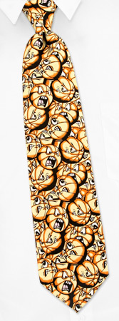 Basketball Ties - Play Hard Basketball By NovelTies Black Polyester Ties