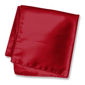 "Pocket Handkerchief - Burgundy 16"" By Elite Solid Burgundy Silk Pocket Squares"
