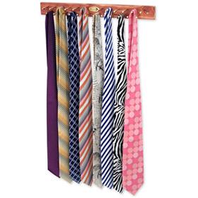 Cedar Tie Rack Tie Rack by Necktie Accessories -  Brown Wooden