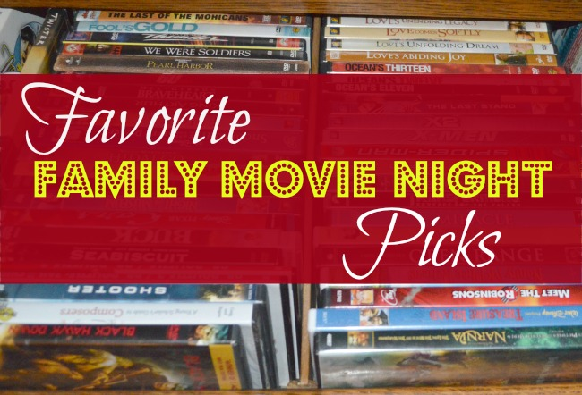 Favorite Family Movie Night Picks {@www.walkinginhighcotton.net} Wholesome family fun!