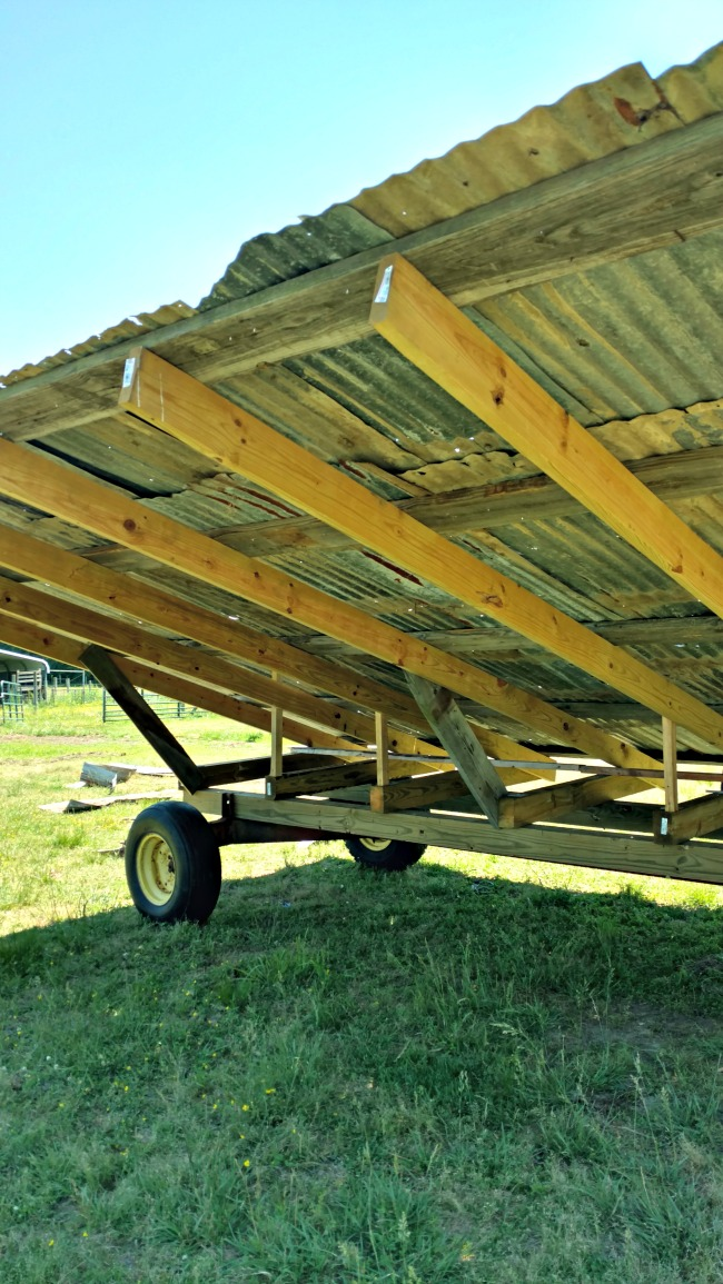 shade shelter roof