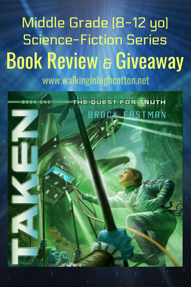 Quest for Truth sci-fi series for middle graders by Brock Eastman--A Review and Giveaway! via Walking in High Cotton