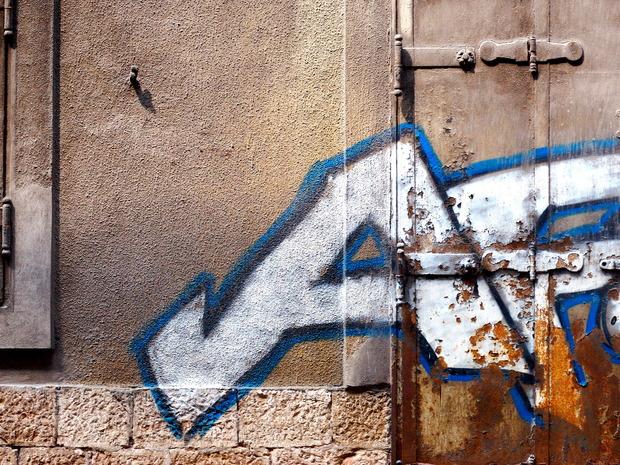 Sarajevo Graffiti Door