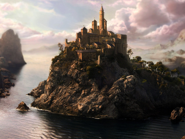 Castle On Rocks