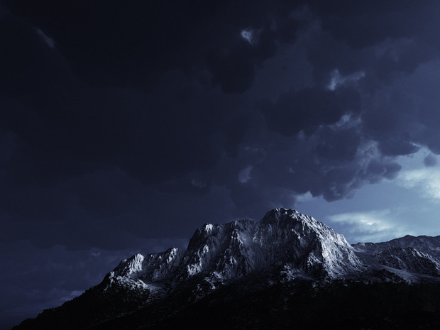 Mount Aciyu Bleached