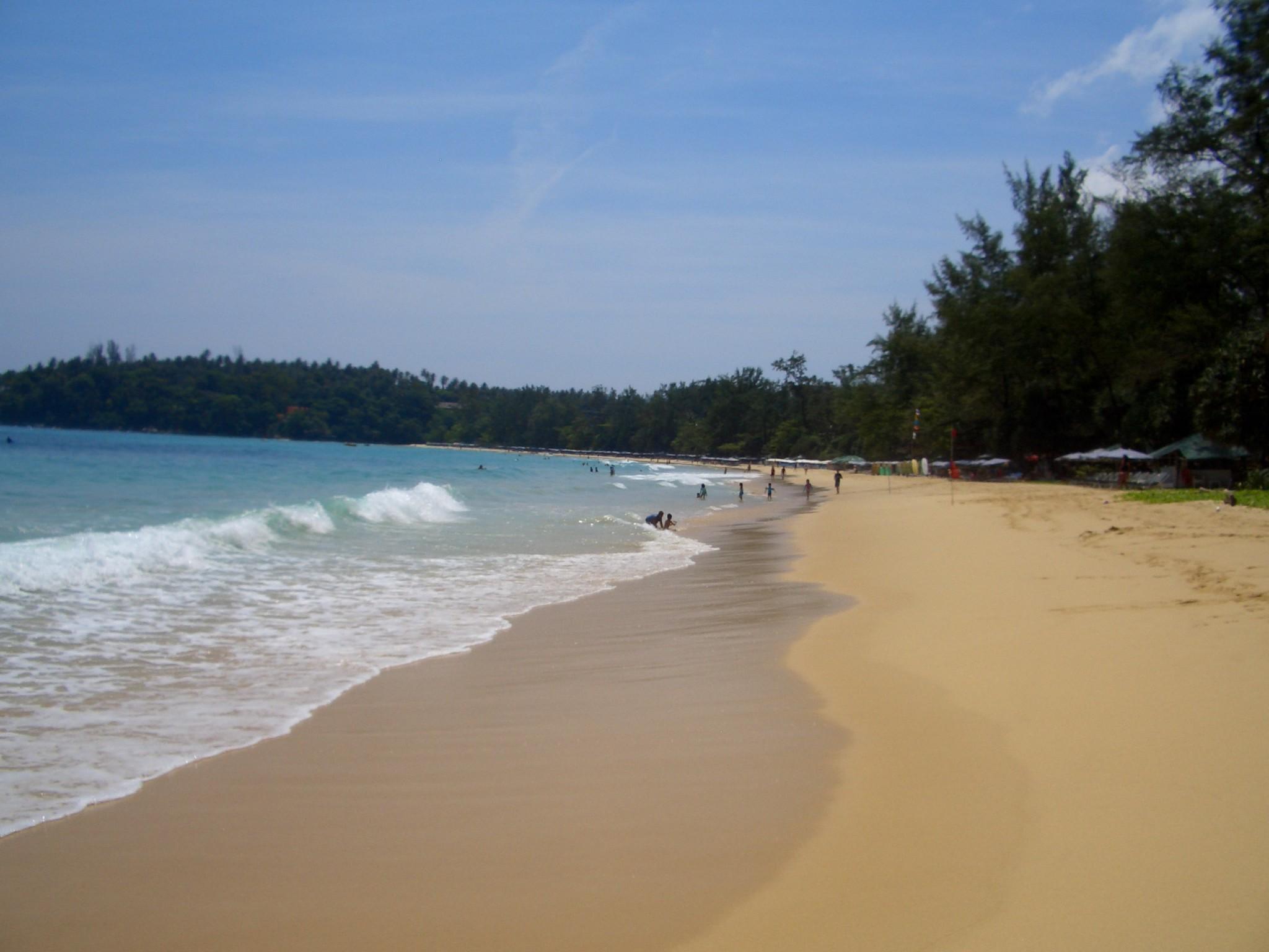Пляж ката на пхукете фото