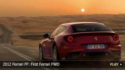 2012 Ferrari FF: First Ferrari FWD