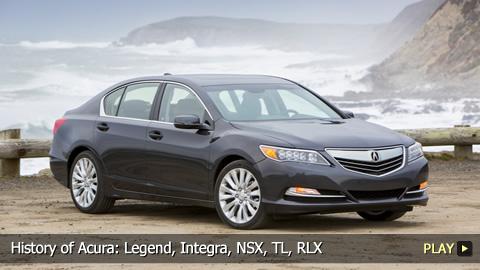 History of Acura: Legend, Integra, NSX, TL, RLX