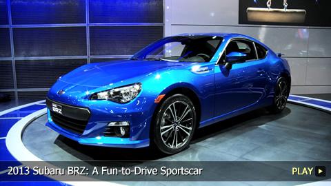 2013 Subaru BRZ: A Fun-to-Drive Sportscar