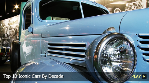 Top 10 Iconic Cars By Decade