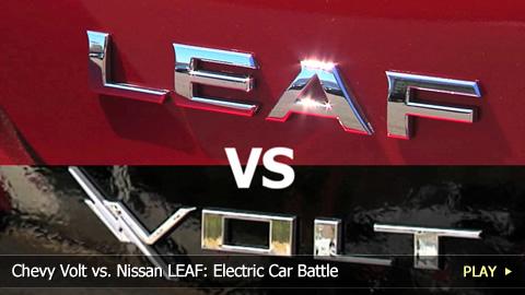 Chevy Volt vs. Nissan LEAF: Electric Car Battle