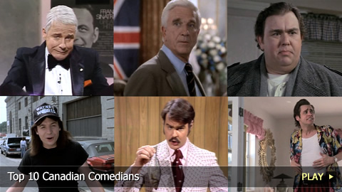 Top 10 Canadian Comedians