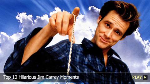 Top 10 Hilarious Jim Carrey Moments