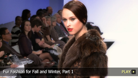 Fur Fashion for Fall and Winter - Part 1