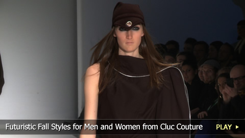 Futuristic Fall Styles for Men and Women from Cluc Couture