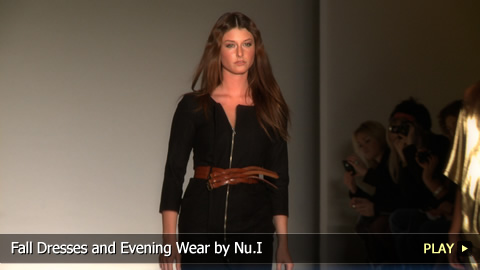 Fall Dresses and Evening Wear by Nu.I