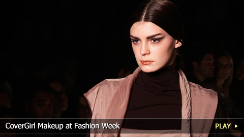 CoverGirl Makeup at Fashion Week