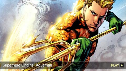 Superhero Origins: Aquaman