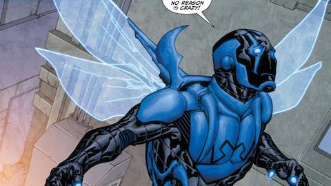 Superhero Origins: Blue Beetle