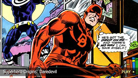 Superhero Origins: Daredevil