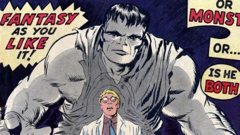 Superhero Origins: The Hulk